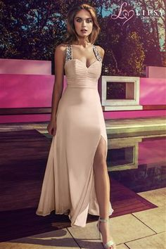 Buy Lipsy Embellished Cross Strap Maxi Dress from the Next UK online shop