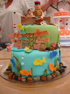 boat cake butter icing. - Google Search