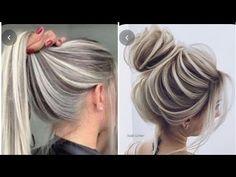 Brown Hair With Blonde Highlights, Blonde Hair Looks, Grey Hair Transformation, Hair Color And Cut, Hair Color Balayage, Dyed Hair, Curly Hair Styles, Hair Cuts, Hair Beauty