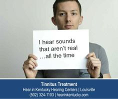 http://www.hearinkentucky.com/ – I am the face of tinnitus. One of millions of Americans suffering from a condition that has no outwards indications of disease or disability. Tinnitus is real and disrupts many lives. Fortunately treatment options do exist. Start your search for a tinnitus cure at Hear in Kentucky Hearing Centers in Louisville.
