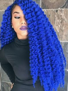 This synthetic hair can be used to make proper locs styles. With its longer size, you can do longer hair styles. Havana Twist Hairstyles, New Natural Hairstyles, Cool Hairstyles, Natural Hair Styles, Short Hair Styles, Havana Braids, Twist Braids, Locs Styles, Braid Styles