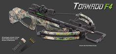 Parker Bows - Tornado F4 Crossbow