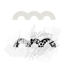 """Das neue Logo. Die drei Bögen im alten Logo beziehen sich auf Odsherredbuerne und die vier """"Beine"""" des Geoparks: Landschaft, Kultur, Geschichte, Kunst und Rohstoffe. Die Form ist klar, ausdrucksstark, gut wiedererkennbar und deshalb auch elementarer Teil des neuen Logos. Allerdings wurde die Farbwelt angepasst."""