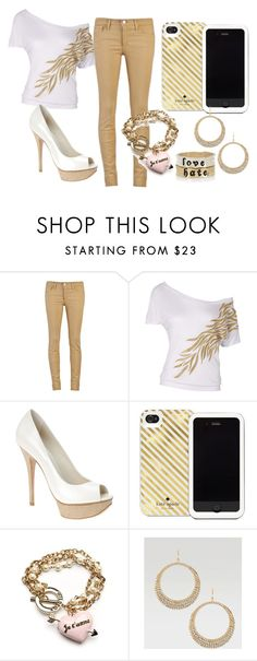 """""""Dia de clases 2"""" by karla-mellark ❤ liked on Polyvore featuring Joe's Jeans, ALDO, Kate Spade, Wildfox, Bebe and River Island"""