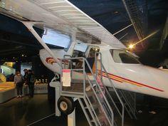 Musée de l'Air et de l'Espace, espace Planète Pilote. C'est un lieu qui regroupe une trentaine d'installations interactives pour les enfants