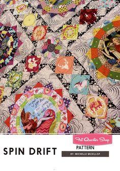Spin Drift Quilt Pattern<BR>Jen Kingwell Designs