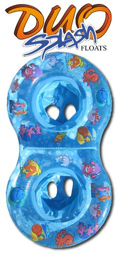 Duo Splash Float.  Perfect for twins in the pool.