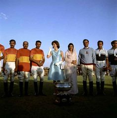 At a polo match during her trip to India. | 31 Flawless Photos Of Jackie Kennedy