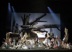 """Scena zbiorowa z opery """"Halka"""" z Teatru Wielkiego w Łodzi Opera, Concert, Poster, Opera House, Concerts"""
