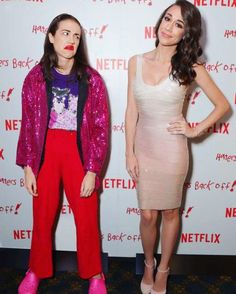 Miranda Sings and Coleen Balinger