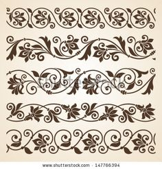 14 Cool Images of Free Vector Borders Vintage. Free Vintage Border Designs Free Vector Calligraphic Design Elements Vintage Vector Border Vintage Frame Border Design Vintage Borders and Frames Vectors Stencil Patterns, Stencil Art, Stencil Designs, Stencils, Border Pattern, Border Design, Pattern Art, Motif Floral, Floral Border