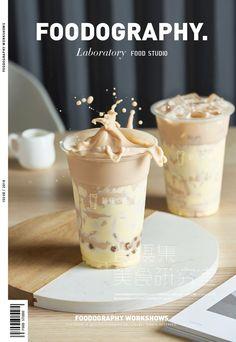 Food graphic design Hijab hijab o que Food Graphic Design, Food Menu Design, Food Poster Design, Milk Tea Recipes, Coffee Recipes, Food Photography Tips, Coffee Photography, Wan Tan, Bubble Milk Tea