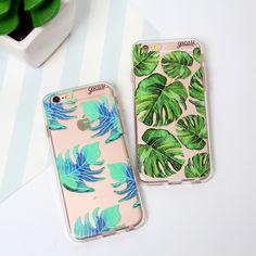 esverdeando seu smartphone em 3 2 1! {cases: folhas verdes e tropical verde}…