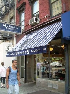 Murray's Bagels in Chelsea -- best bagels in NYC