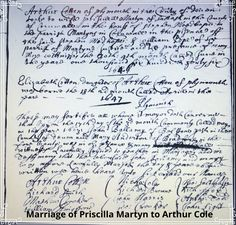 Record of wedding of Priscilla Martyn to Arthur Cotton in Plymouth in 1646 (and birth of their daughter in Balliol College, Visit Devon, States Of Consciousness, Grammar School, In Writing, Plymouth, Writers, Past, Texts
