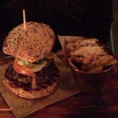 The Jamie's Italian Burger @ Jamie's Italian - Reading