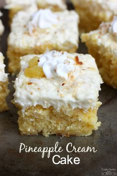 The Best Pineapple Cream Cake on MyRecipeMagic.com