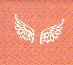 Free lovely Angel wings SVG cutting file