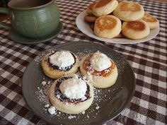Zobrazit detail - Recept - Vdolky na pole Thing 1, Cheesecake, Muffin, Breakfast, Detail, Morning Coffee, Cheesecakes, Muffins, Cupcakes