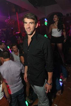 Michael Phelps Wraps Up Labor Day Weekend at Hyde Bellagio