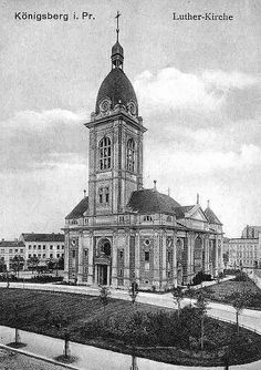 050 Königsberg - Lutherkirche by Kenan2, via Flickr