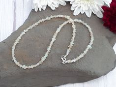 Ethiopian opal necklace - choose choker or standard size. October birthstone gift. - 16 inches