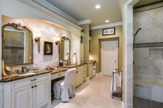 If you ask most homeowners, they're likely to tell you that there's no such thing as a master bathroom with too much space. Master bathrooms just seem to be one of those places in a home where more is almost always better! As such, there are many homeowners whose master bathroom designs are always inclusive …