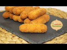 Patates Kroket Tarifi (Recette de Croquettes de pommes de terre ) | Resimli Yemek Tarifleri Hayalimdeki Yemekler