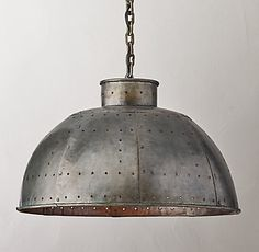 Industrial Dome Small Pendant