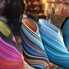 Amazing colourful shoes!