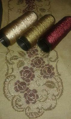 Basic Embroidery Stitches, Beaded Embroidery, Cross Stitch Embroidery, Cross Stitch Designs, Cross Stitch Patterns, Palestinian Embroidery, Cross Stitch Flowers, Christmas Cross, Couture