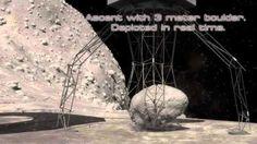 Raumschiff holt einen Fels von einem Asteroiden - Nasa -Der Mond bekommt einen Mond: Die Nasa will einen Felsbrocken von einem Asteroiden pflücken und ihn in Richtung Erde bringen. Der Asteroidenbrocken wird dann in einen Orbit um den Mond gesetzt.