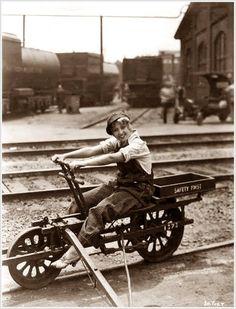 Railway Bicycle.