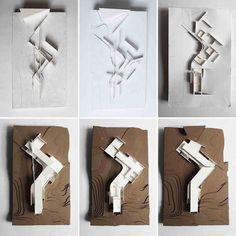 2,225 отметок «Нравится», 4 комментариев — Architecture Factor (@architecturefactor) в Instagram: «Awesome Physical models by Russell LOW @rlowrlow for Professor Lou GOODMAN's Spring 2017 ARCH400…»