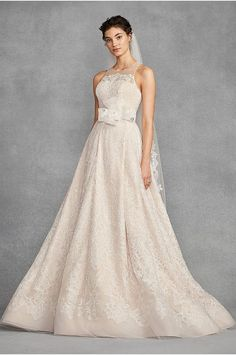 a882fd48a68f White by Vera Wang Macrame Lace Wedding Dress - This White by Vera Wang A-