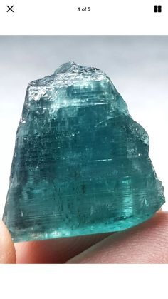 42 Carats blue green Rough tourmaline | Collectibles, Rocks, Fossils & Minerals, Crystals & Mineral Specimens | eBay!