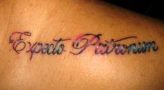 My Harry Potter Expecto Patronum tattoo!