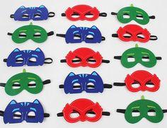 Set Of 20 PJ masks PJ Masks Birthday Party PJ by FutureHeroes