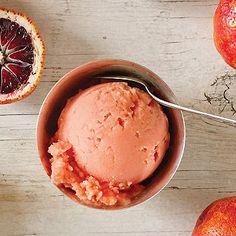 blood-orange-sorbet recipe