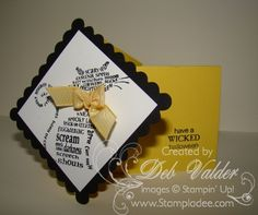 Diamond Explosion Card by djlab - Cards and Paper Crafts at Splitcoaststampers