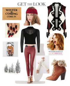 """""""winter essentials"""" by southern-woman-fashionista on Polyvore featuring Charlotte Russe, Zodaca, River Island, Celestine, WearAll and plus size clothing"""