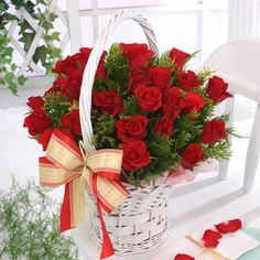 2 dozen fresh red roses in basket to Philippines,send flowers to Philippines,delivery rose basket to Philippines,roses in basket send to manila Philippines,roses online delivery to Philippines Flowers For You, Red Flowers, Red Roses, Rose Basket, Flower Baskets, Happy Birthday Pictures, Hearts And Roses, Beautiful Roses, Happy Valentines Day