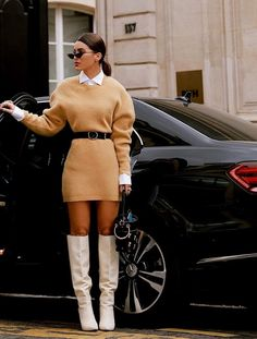 The Best Street Style From Fall 2019 Fashion Weeks Get ready for serious fashion inspiration. - The Best Street Style From Fall 2019 Fashion Weeks – Stylefullness Fashion Weeks, Fall Fashion Outfits, Mode Outfits, Casual Outfits, Fashion Dresses, Autumn Outfits, Fall Fashions, Abaya Fashion, Fashion Games