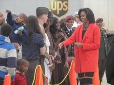 """""""The story of Joining Forces is of people across this country stepping up and doing everything they can to serve military families as well as they have served this country,"""" said First Lady Michelle Obama."""
