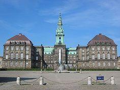 Christiansborg, where danish politics are made..