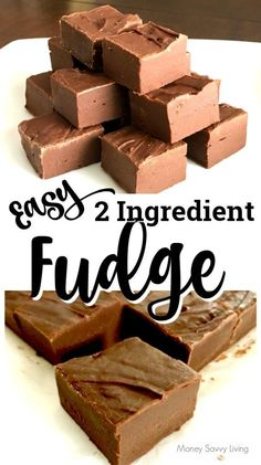 This fudge recipe is so easy it will only take you about 5 minutes to make! This fudge recipe is so easy it will only take you about 5 minutes to make! Hot Fudge Cake, Hot Chocolate Fudge, Melting Chocolate Chips, Chocolate Recipes, Trifle Desserts, Great Desserts, Party Desserts, Delicious Desserts, Yummy Food