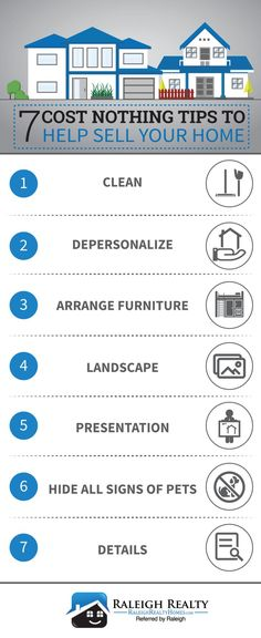 7 Tips That Cost Ers Nothing To Help Their Home Faster Infographic This Advice Will Prepare For Without Paying Large