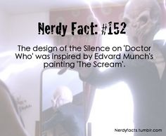 The Silence<<I KNEW IT!!!!! I even said that the Silence looked like the Scream painting!!!