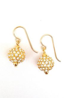 Swarovski Sparkle Drop Earrings
