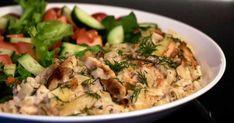 Haastamme sinut kokeilemaan kuukautta vegaanina! Tofu, Risotto, Potato Salad, Chili, Vegan Recipes, Potatoes, Pasta, Meat, Chicken